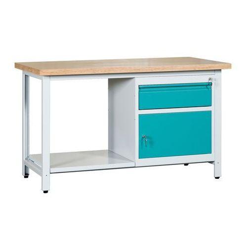 Stół warsztatowy 2-modułowy WS2-04