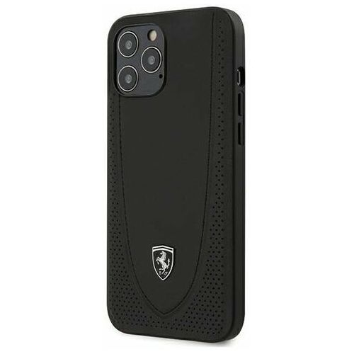 "Ferrari FEOGOHCP12LBK iPhone 12 Pro Max 6,7"" czarny/black hardcase Off Track Perforated (3700740479254)"