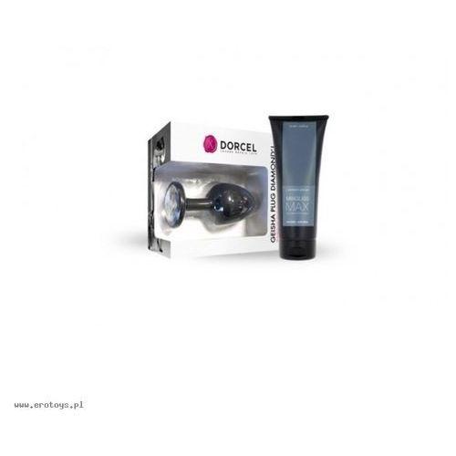 Dorcel - Geisha Plug Diamond L + Mixgliss Max 70 ml (zestaw) (3700436071656)