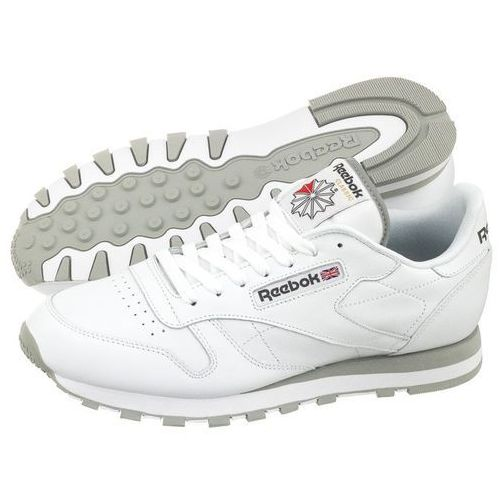 Buty Reebok CL LTHR 2214 (RE174-a), kolor biały