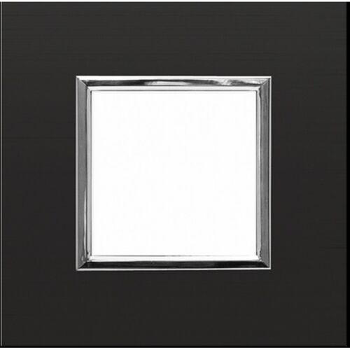 KOS DANTE Ramka 1x ALUMINIUM ANODOWANE ONYX 4590281, kolor srebrny