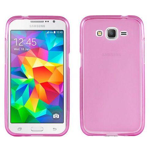 Etui silikonowe FLEXmat do Samsung Grand Prime G530 - Różowy, kolor Różowy