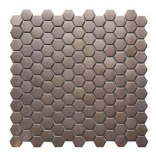 Colours Mozaika lolo 30,5 x 32 cm różowo-złota