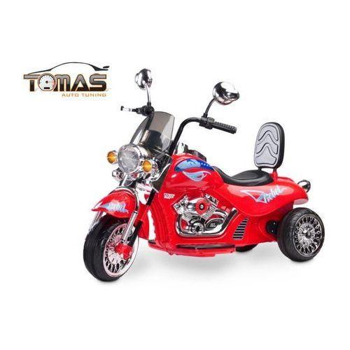 Toyz Motor motocykl rebel na akumulator czerwony