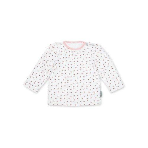 Sterntaler Koszulka z ługim rękawem jersey Waldis Rosie, kolor biały (4055579693807)