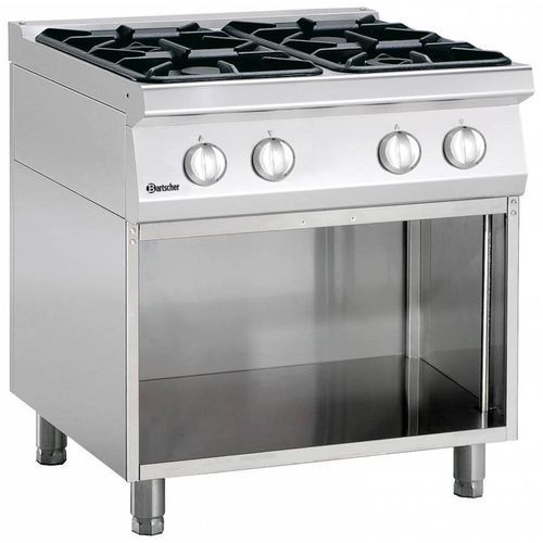 Kuchnia gazowa 4 palnikowa | 18200W. Najniższe ceny, najlepsze promocje w sklepach, opinie.