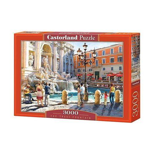 Puzzle 3000 Fontanna Di Trevi CASTOR (5904438300389)