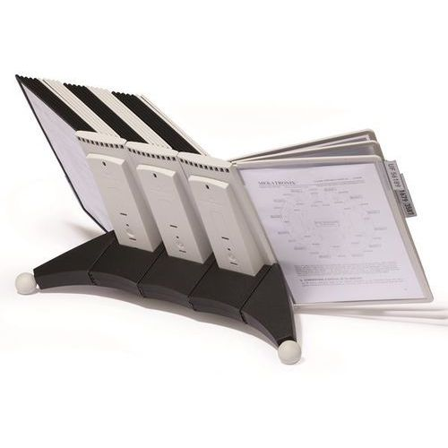 Durable Stojak modułowy sherpa, zestaw kompletny, wraz z uchwytami i przezroczystymi tab
