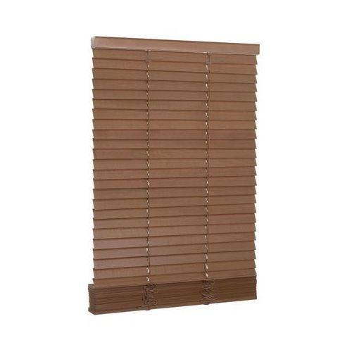 Żaluzja drewniana 100 x 150 cm dąb 27 mm marki Inspire