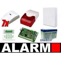 Zestaw alarmowy SATEL Integra 32, Klawiatura LCD, 7 czujek ruchu PET, sygnalizator wewnętrzny, AI10