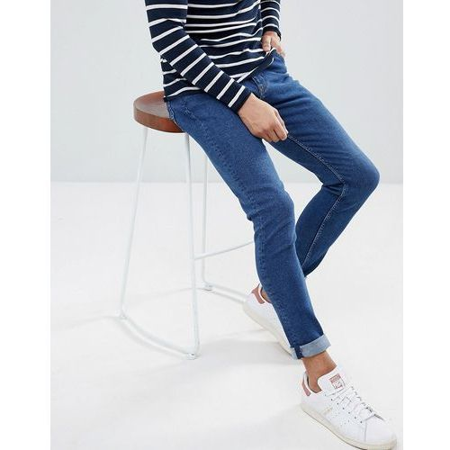 Weekday Form Powell Blue Super Skinny Jeans - Blue