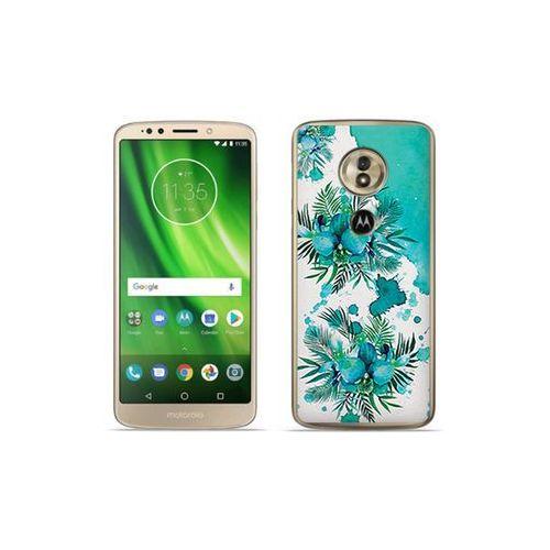 etuo Fantastic Case - Motorola Moto G6 Play - etui na telefon Fantastic Case - turkusowa orchidea