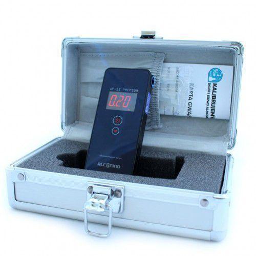 Alkomat af-35 premium w walizeczce aluminiowej marki Alcofind