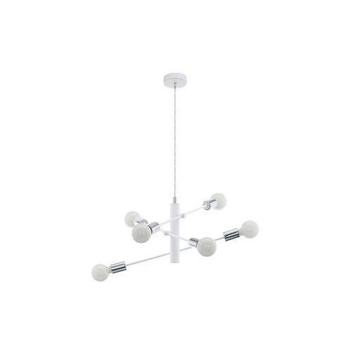 Eglo 98016 - żyrandol na lince gradoli 6xe27/60w/230v biały (9002759980160)