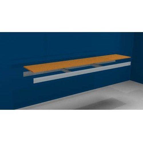 Dodatkowa półka, z trawersami i płytą wiórową, szer. x gł. 2250 (2x1125 mm) x 40 marki Julius vom hofe