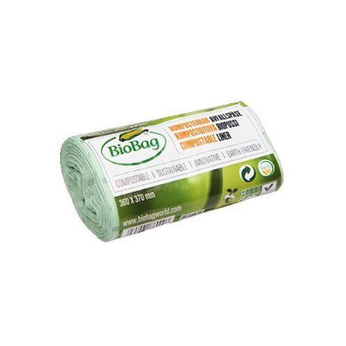 Worki na odpady organiczne biodegradowalne i kompostowalne w 100% idealne do maxair ii 6l rolka 30 szt- marki Biobag