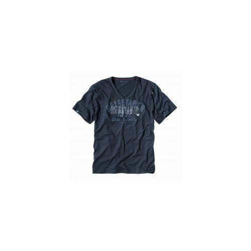 Koszulka krótki rękaw Mustang 5534 2100 grafitowa, kolor szary