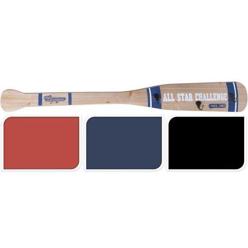 Wieszak batte de baseball ii- czarne elementy - czarny marki Interior