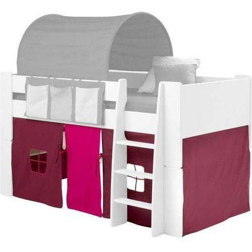 for kids - zasłonka do łóżka w kolorze purpurowo-różowym marki Steens