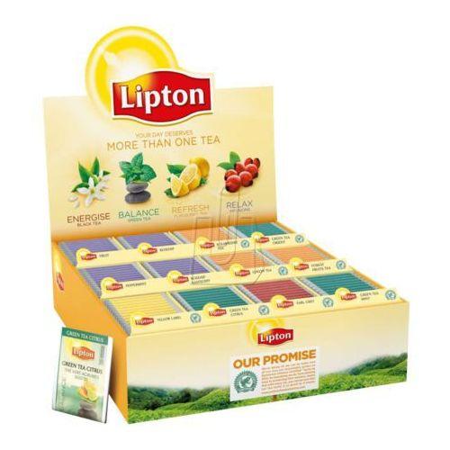 Zestaw herbat  180 kopert mix smaków, marki Lipton