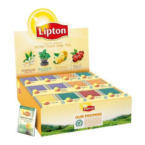Zestaw herbat Lipton 180 kopert mix smaków
