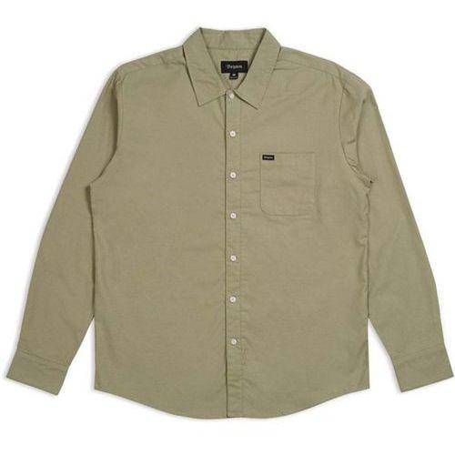 koszula BRIXTON - Charter Oxford L/S Wvn Sage (SAGE) rozmiar: M, 1 rozmiar