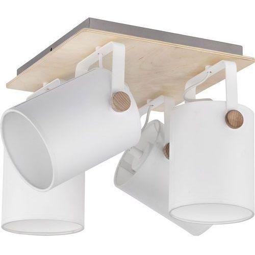 Relax lampa sufitowa (spot) 4-punktowa biała 1615 marki Tk lighting