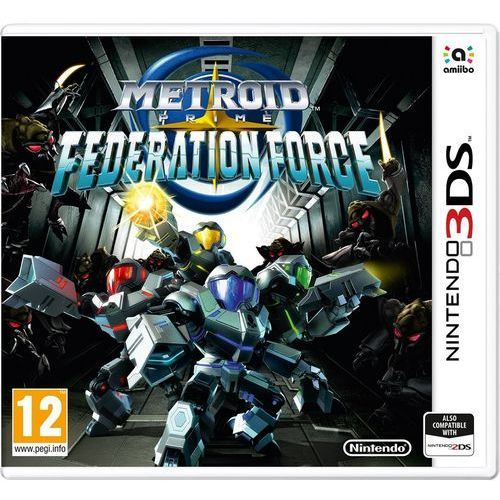 Metroid prime: federation force 3ds marki Nintendo
