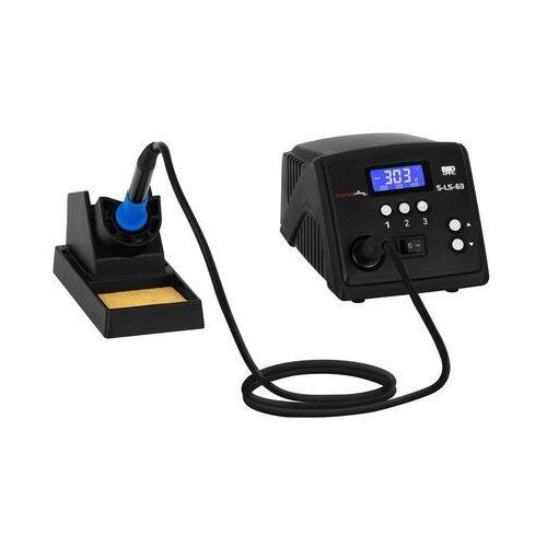 stacja lutownicza - 100 w - cyfrowa - lcd s-ls-63 - 3 lata gwarancji marki Stamos soldering
