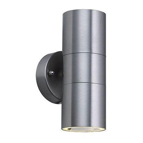 Ideus Zewnętrzna lampa ścienna hl266 01178 elewacyjna oprawa do ogrodu kinkiet hermetyczny tuba outdoor ip44 satyna (5901477311789)