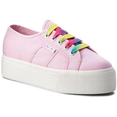 Tenisówki SUPERGA - 2790 Cotw Multicolor Outsole S00DPY0 Pink Lavender G30, kolor różowy