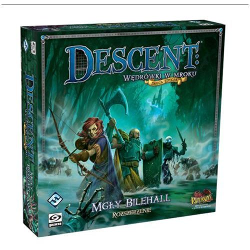 Descent:mgły bilehall galakta marki Fantasy flight games