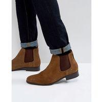 chelsea boots in tan suede - tan marki Ben sherman