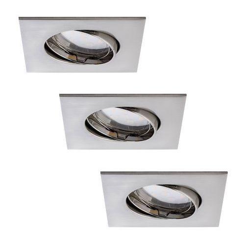 Paulmann 92773 - zestaw 3x led łazienkowa oprawa wpuszczana coin 3xled/6,8w/230v (4000870927731)