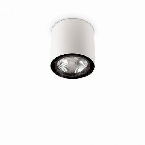 Ideal lux Spot mood pl1 big round 140872 plafon lampa oprawa sufitowa 1x50w gu10 biały