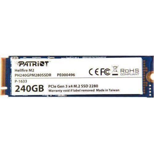 Patriot Hellfire 240GB - produkt w magazynie - szybka wysyłka!, PH240GPM280SSDR