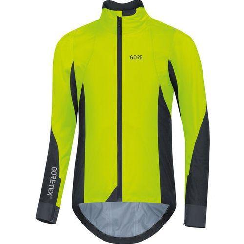 c7 gore-tex active kurtka mężczyźni żółty/czarny l 2018 kurtki szosowe marki Gore wear