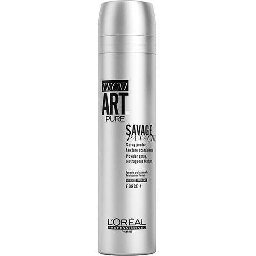Loreal Tecni Art Savage Panache Pure, lekki puder w sprayu dodający objętości, 250ml