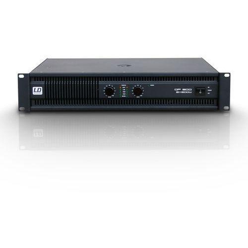 Ld systems dp2 600 końcówka mocy pa 2 x 300w, 2ohm
