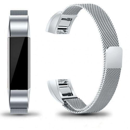 Pasek Tech-Protect MilaneseBand Silver do Fitbit Alta
