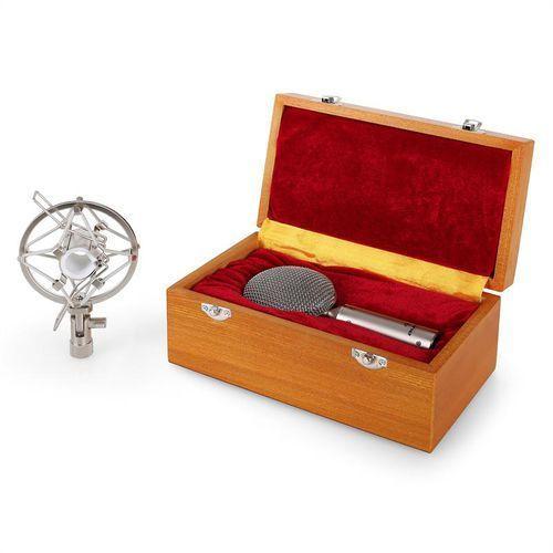 Mikrofon wstęgowy crm15 bändchenmikrofon srebrny acht marki Auna