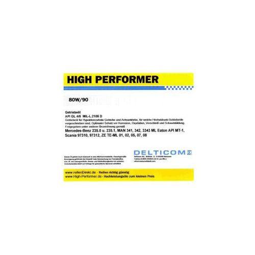 High Performer 80W/90 GL4/5 Getriebeöl 5 Litr Pojemnik