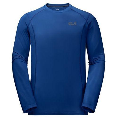 Jack wolfskin Koszulka hollow range longsleeve men - royal blue