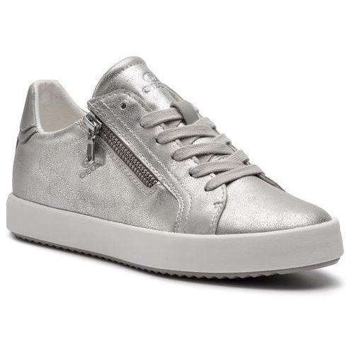 Geox Sneakersy - d blomiee c d926hc 0pvbc c0818 off white/ice