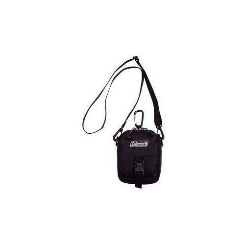 Torba na ramię Coleman ZOOM - (1L,czarna), 12 x 15 x 8,5 cm, 160 g, odpowiednia na dokumenty, telefon komórkowy, klucze
