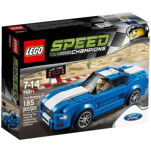 Lego SPEED CHAMPIONS Zestawy champions ford mustang gt 75871