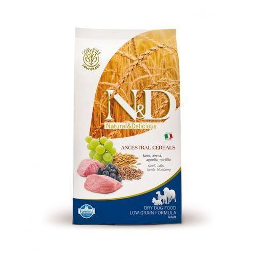 N&D Low Grain Lamb & Blueberry Adult Medium Dog 12kg (8010276020369)