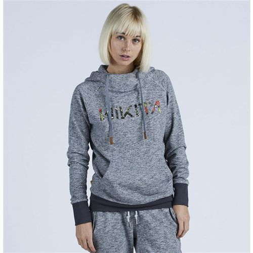 Bluza - reykjavik solid po hoody black (blk) rozmiar: m marki Nikita