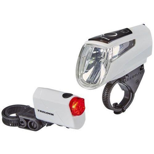 Trelock LS 460 I-GO POWER+LS 720 Zestaw oświetlenia biały 2018 Oświetlenie rowerowe - zestawy