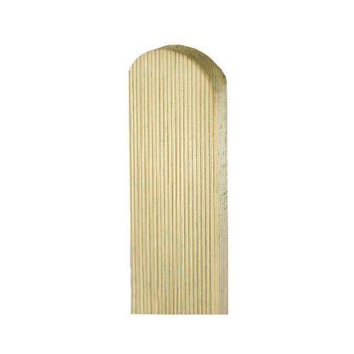 Sztacheta drewniana 180 x 9 x 2 cm ryflowana marki Sobex